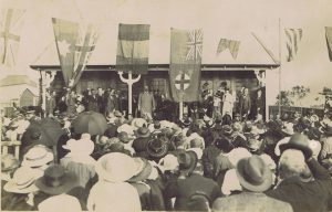 Official Opening of 2nd Soldiers' Home