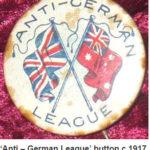 Anti German League Button