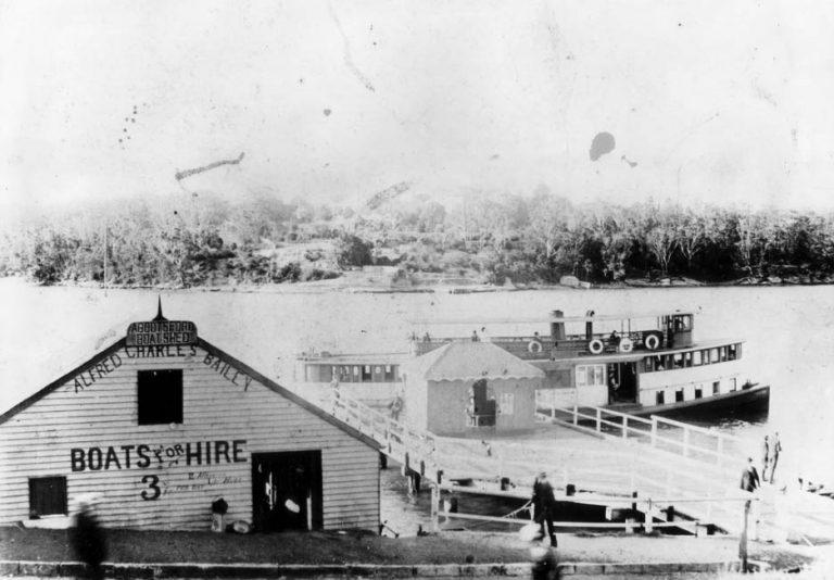 Crossing the Parramatta River (part 1)