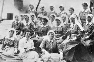 Bluebirds en-route to France aboard HMAT Kanowa, July 1916