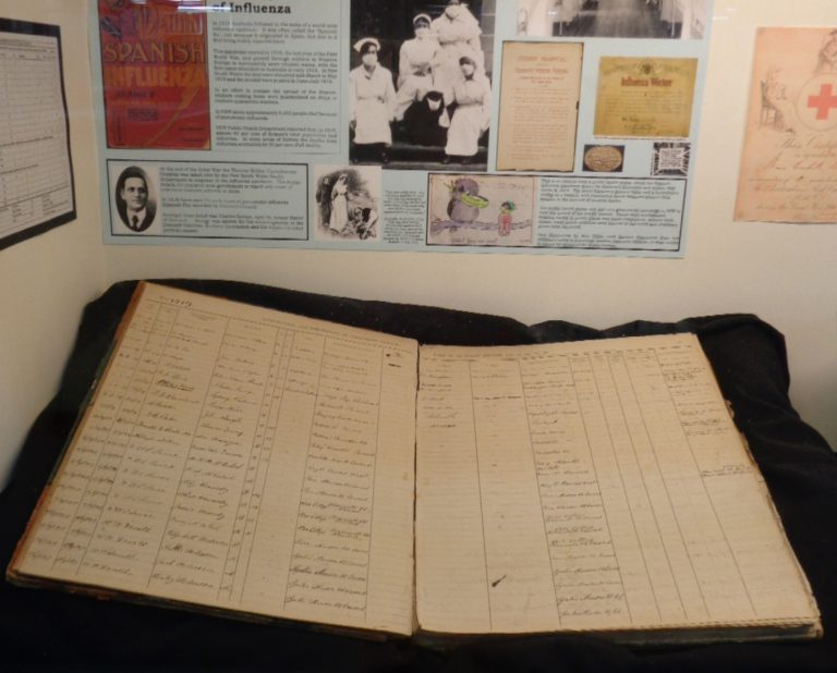 Timely displays at City of Canada Bay Museum