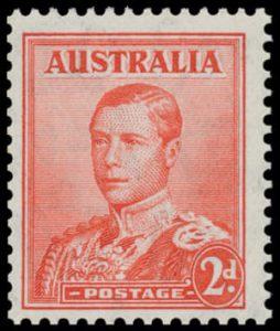 Edward VIII 2d stamp