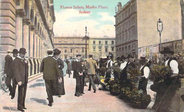 The Flower Sellers of Martin Place