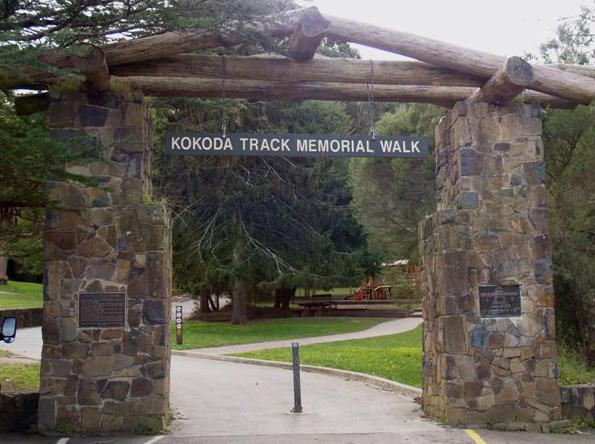 The Kokoda Track Memorial Walkway