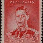Geroge VI 2d stamp
