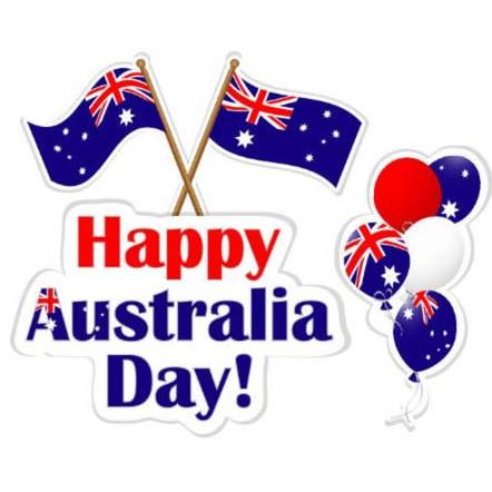 First formal celebration of Australia Day