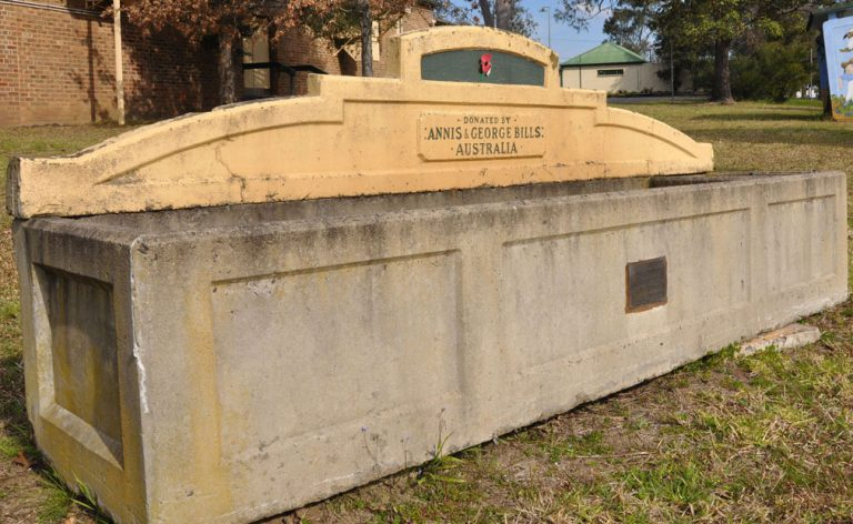 Horse Trough Reveals Intriguing History