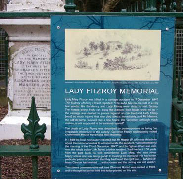 Lady Mary FitzRoy Monument