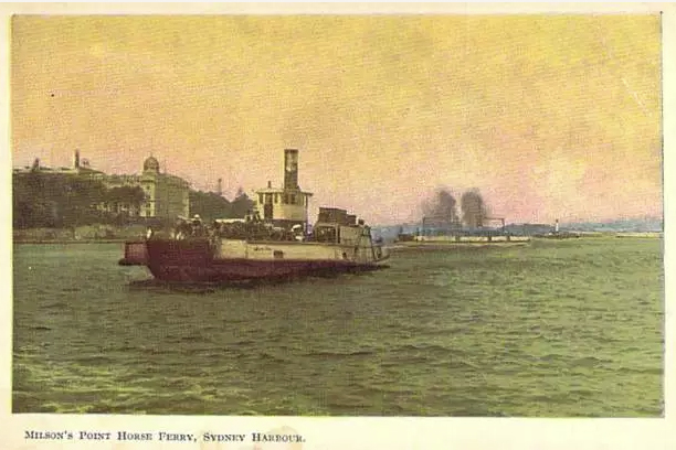 Milsons Point and The Horse Ferry