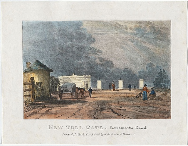 Murder at the Parramatta toll gate, 28 May, 1814