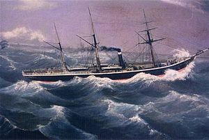 The Wreck of SS Admella, 1859