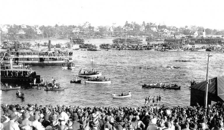 The History of Rowing in Australia