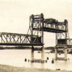 Ryde Bridge with span open for boats