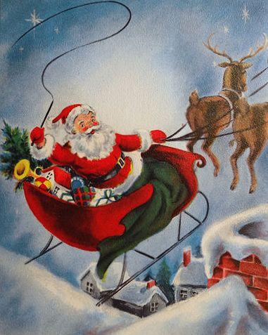 Santa Claus:  The Many Faces Behind the Beard