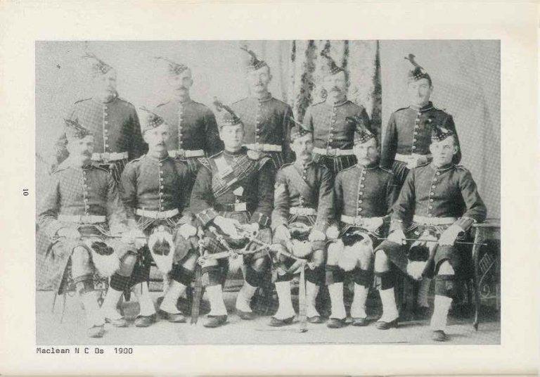The Scottish Rifles – Early Beginnings