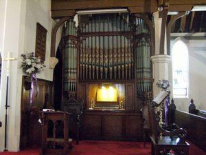 St Luke's Anglican Church organ
