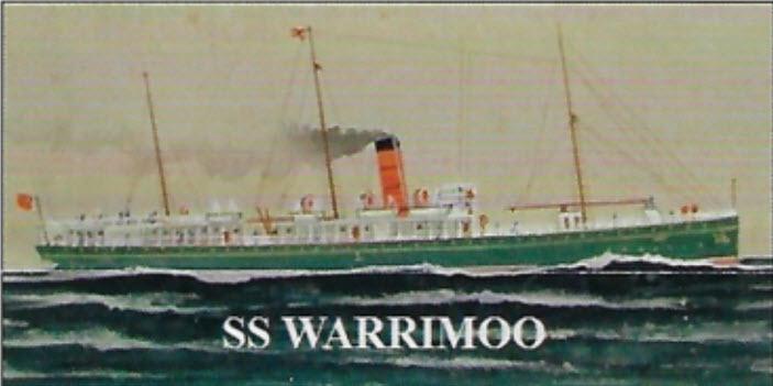 Strange Tale S.S. Warrimoo