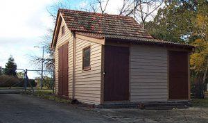 Yaralla Mansion Timber Shed