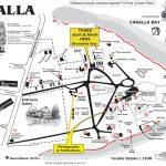 Yaralla Tour Map